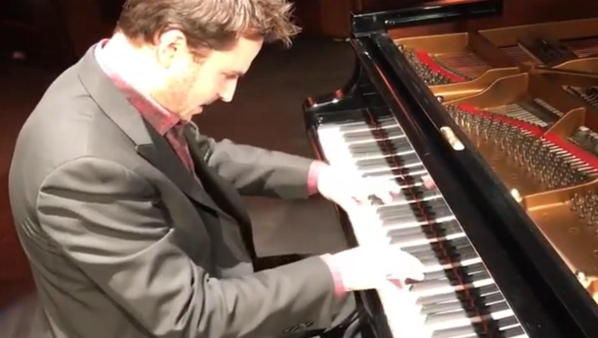Bach Partita no. 3, Palais des Beaux Arts de Bruxelles, novembre 2018