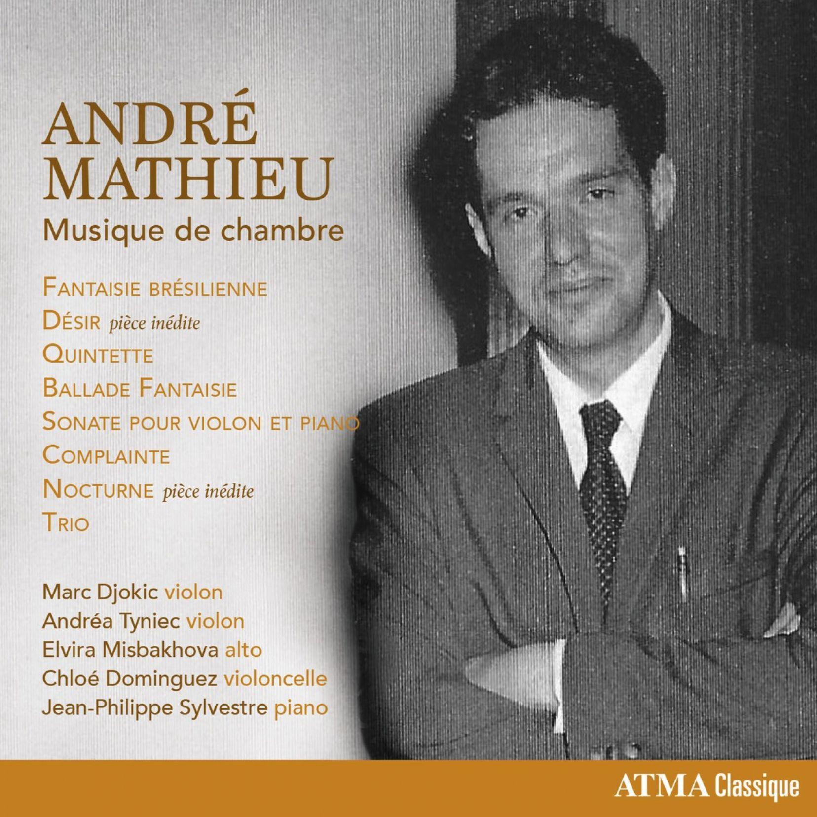 André Mathieu : Musique de chambre