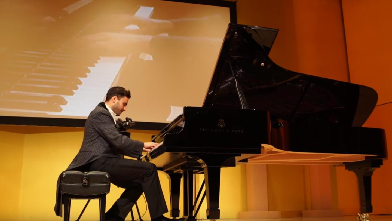 Jean-Philippe Sylvestre plays Balakirev's Islamey