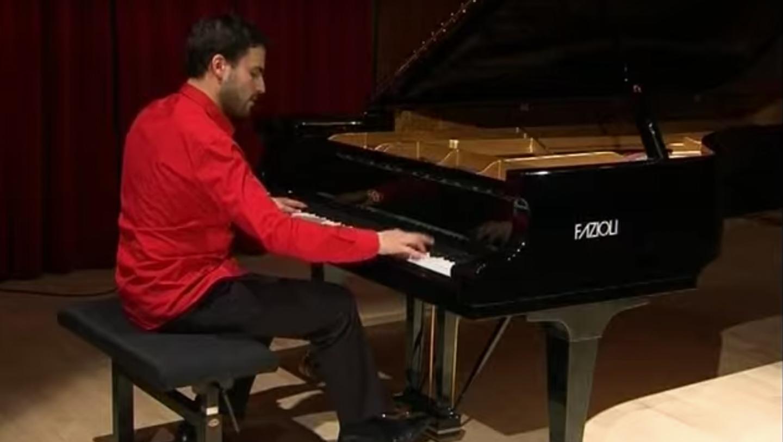 Jean-Philippe Sylvestre piano, Chopin étude Op.10 No.1