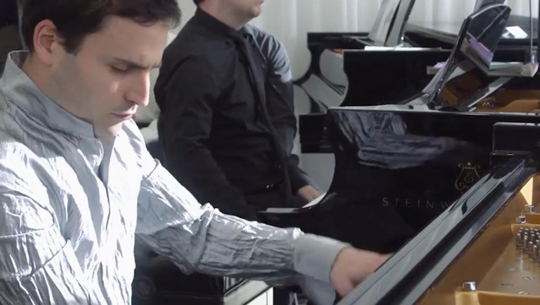 Jean-Philippe Sylvestre joue André Mathieu Concerto de Québec